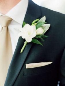 Gardenias en una boda